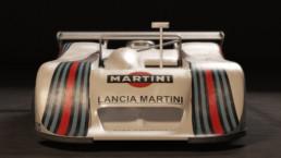 Modellazione 3D Lancia LC1 vista frontale 2
