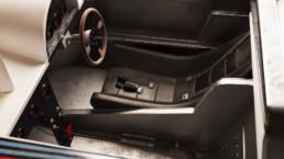 Modellazione 3D Lancia LC1 vista interno