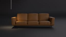Rendering divano modello 2 by STInternational